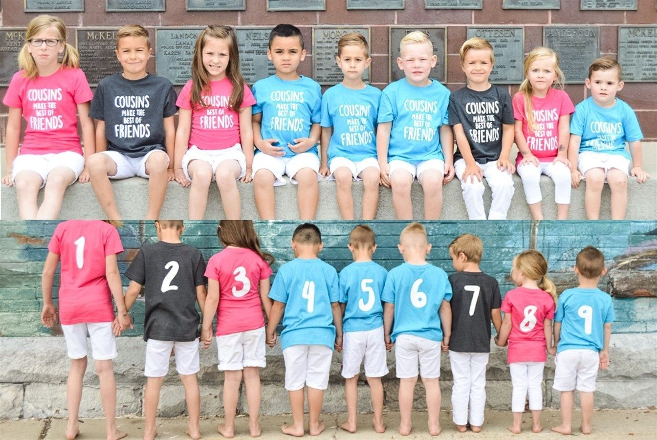 Pin on kids wear. Cousins clipart group child