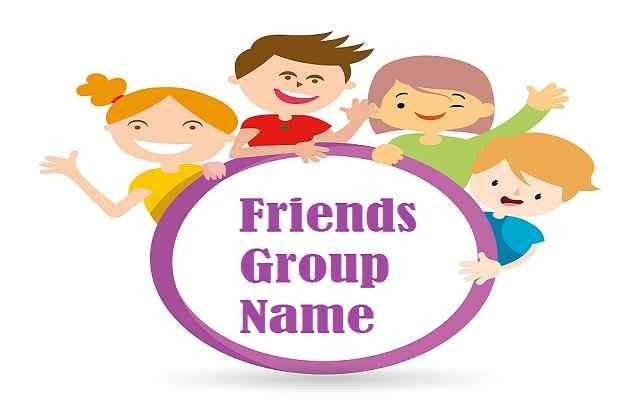 Cousins clipart group child. Friends name list