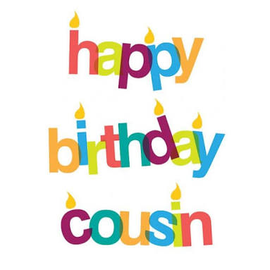 Cousins clipart lovely day.  happy birthday wishes