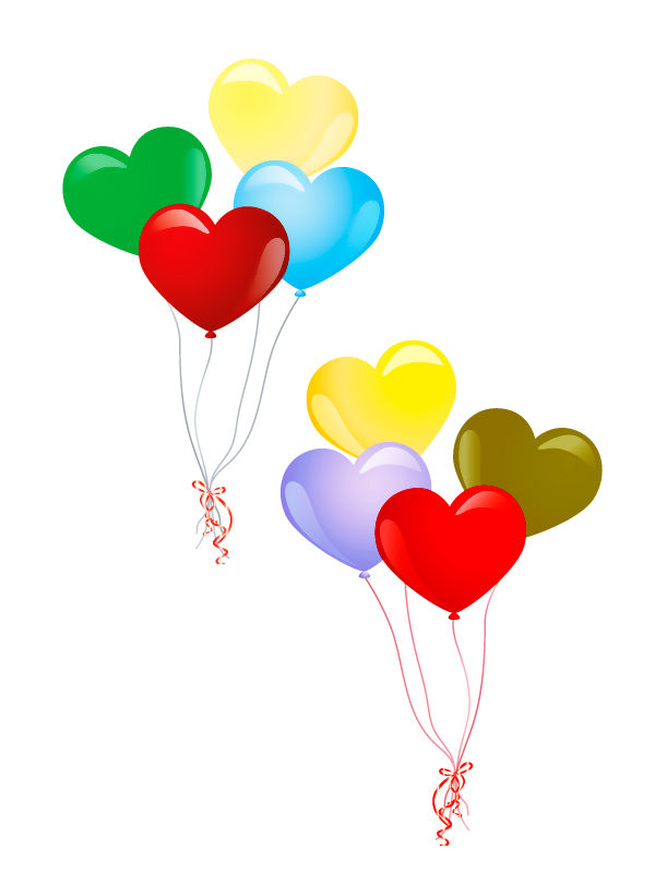 Cousins clipart lovely day. Ballons globos balloons targetas