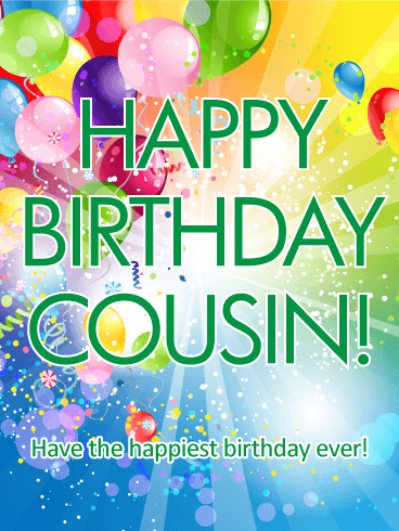 Cousins clipart lovely day. Send free happy birthday