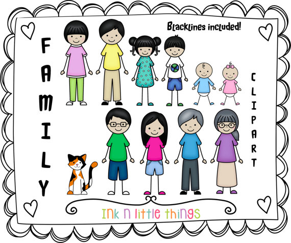 Cousins clipart many kid. Free cliparts download clip