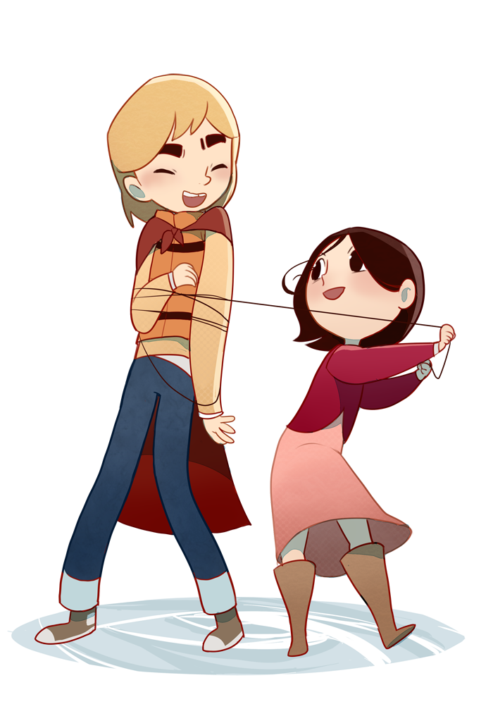 Brother by kyutover deviantart. Young clipart half sister