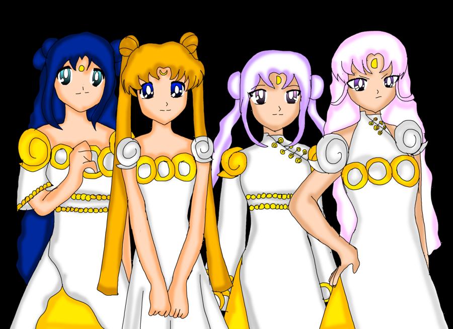 Moon princess by senshi. Cousins clipart social need