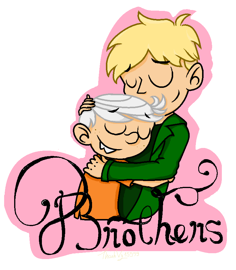 cousins clipart two brother