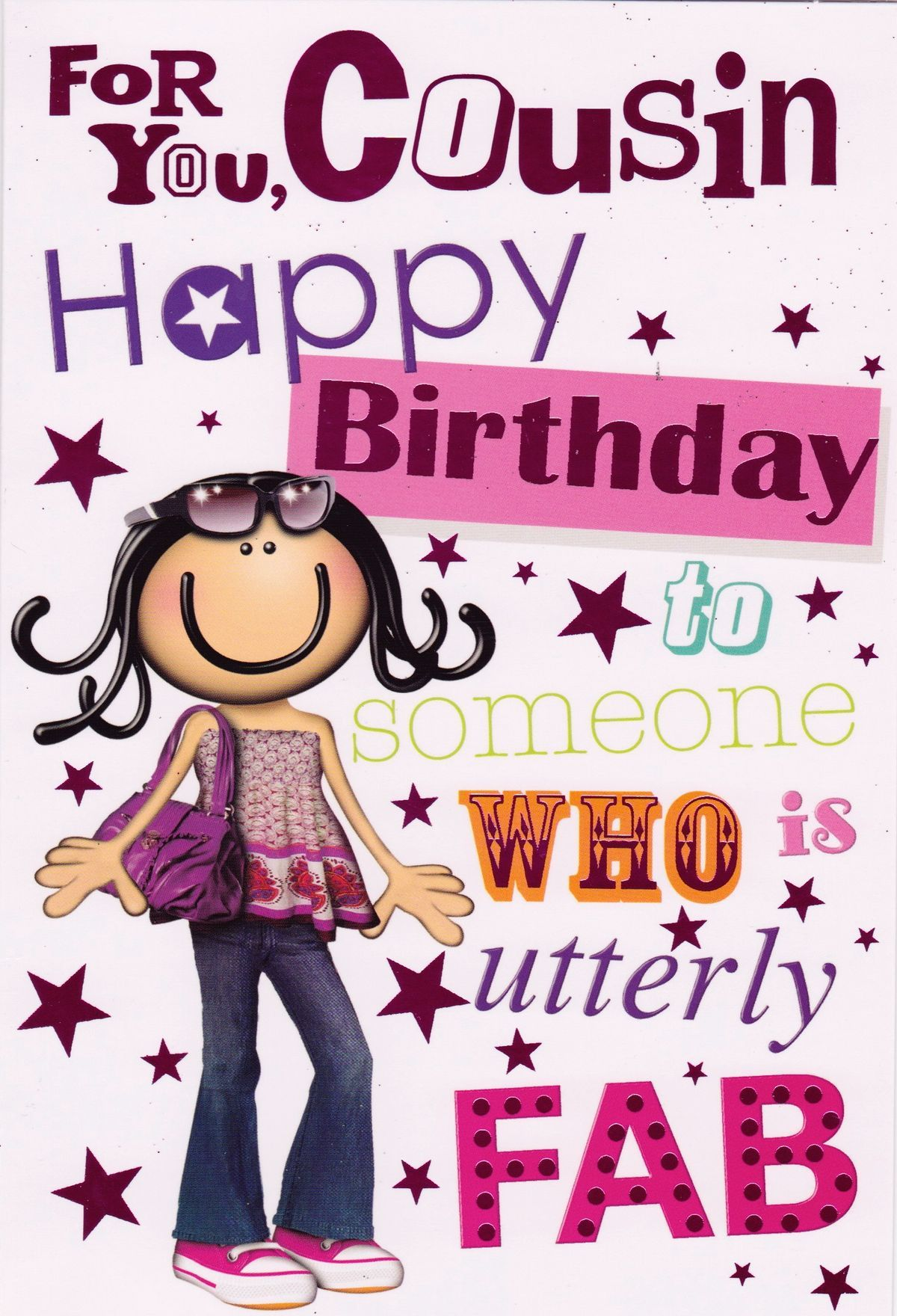 Happy birthday to my. Cousins clipart two brother