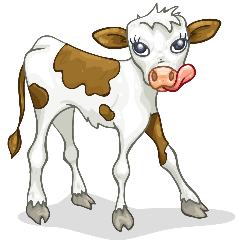 And silhouette at getdrawings. Cow clipart calf