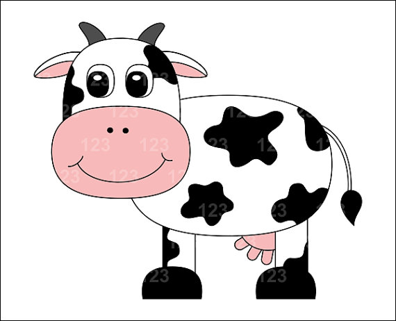 Cow clipart cute. Clip art clipartbarn gclipart