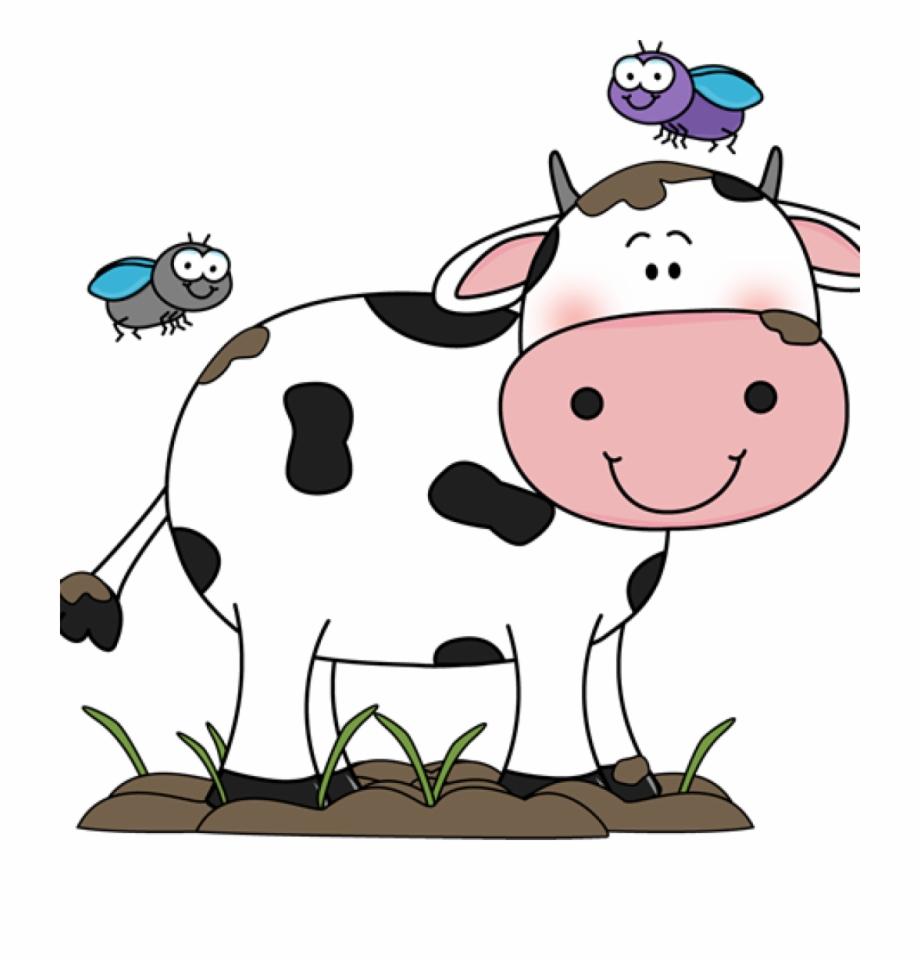 Clip art in the. Cow clipart cute