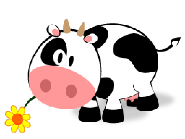 Cow clipart easy. Free on dumielauxepices net