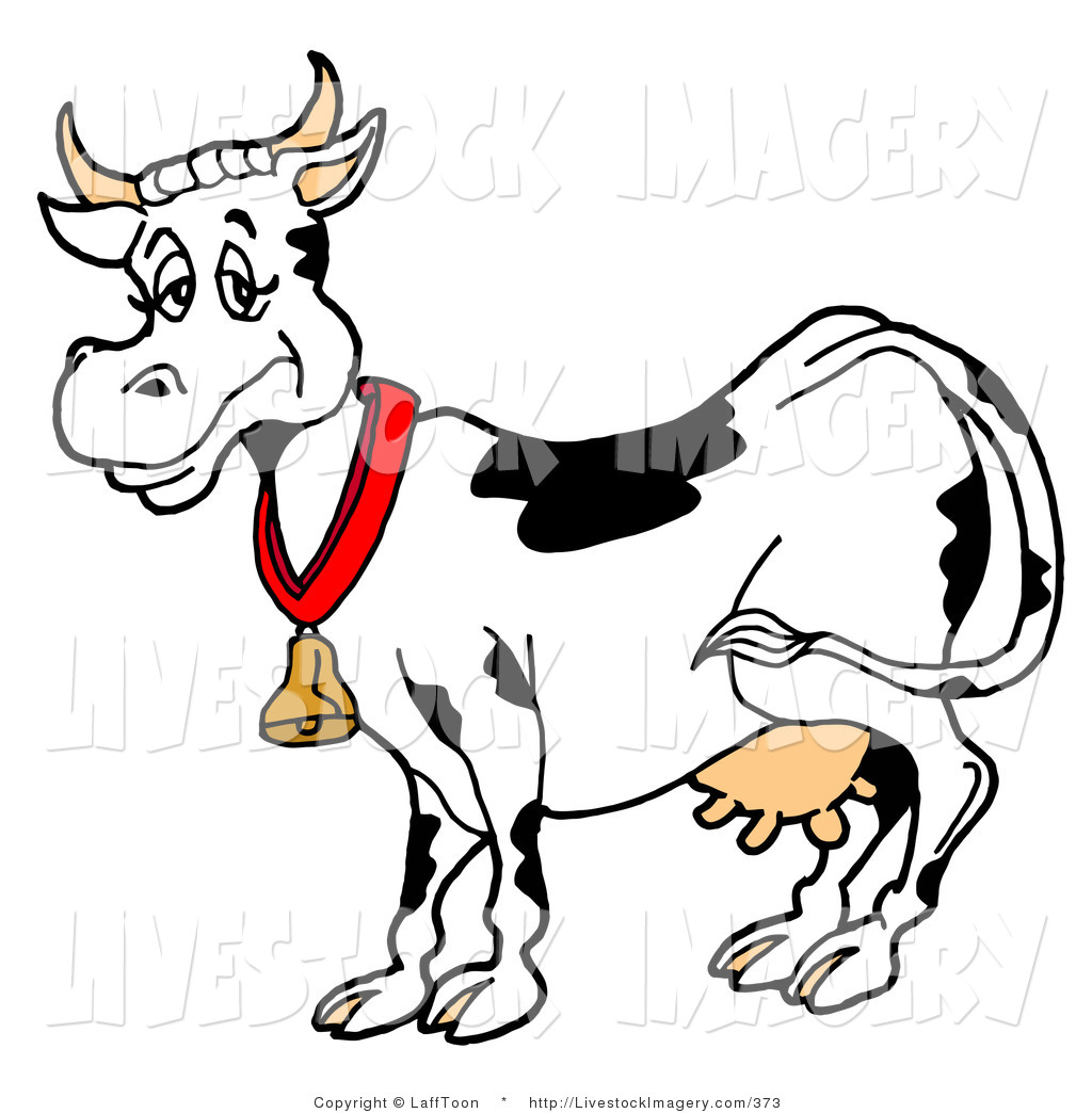 Cow clipart gold. Black and white free