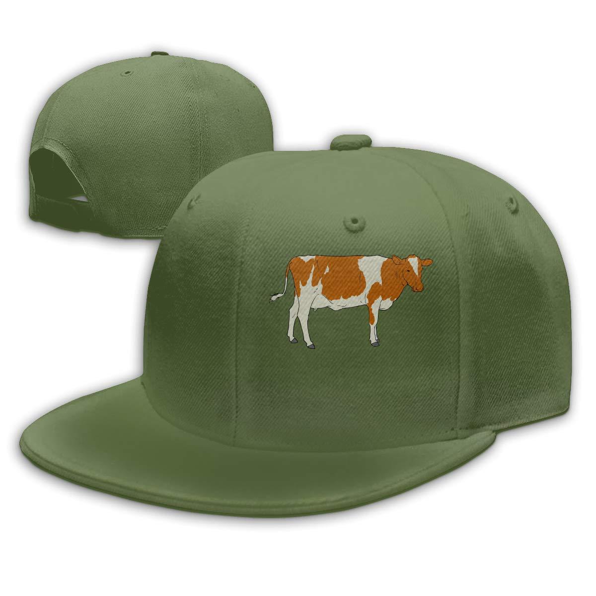 Men women adjustable plain. Cow clipart hat