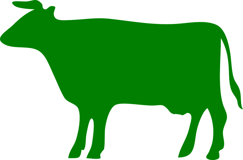 Ox clipart outline. Food cow free on