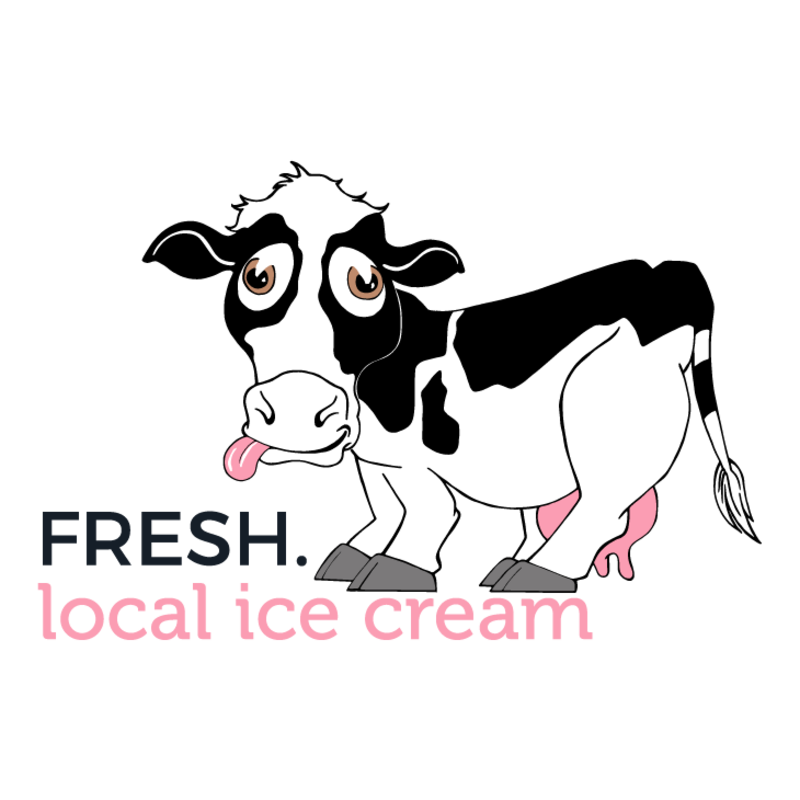 Fresh local delivery glenwood. Cow clipart ice cream