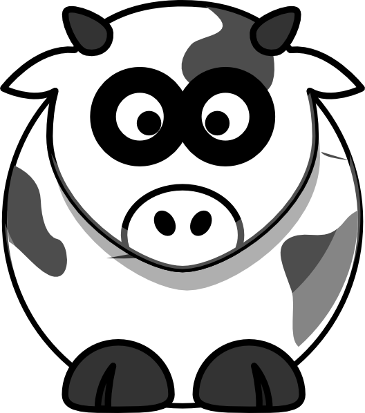 Cows clipart nose. Cow clip art at
