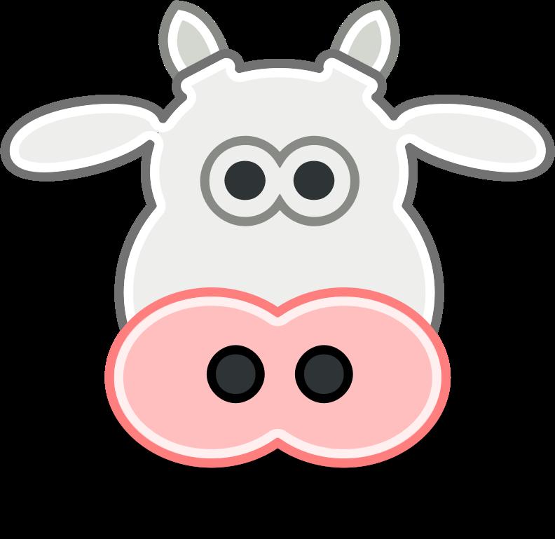 Download cow clip art. Cows clipart nose