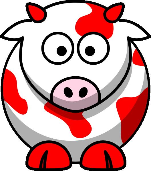Red cow clip art. Cows clipart vaca