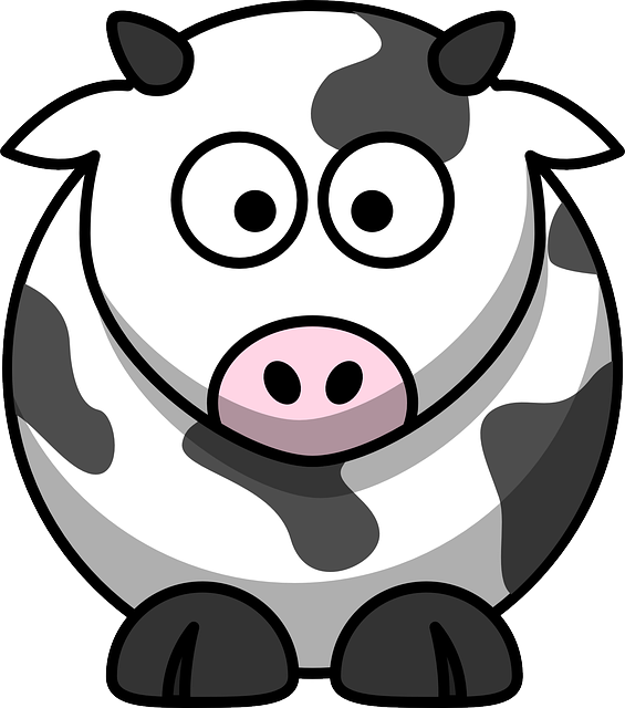 Cow clipart vet. Antibiotics sustainable fairy its