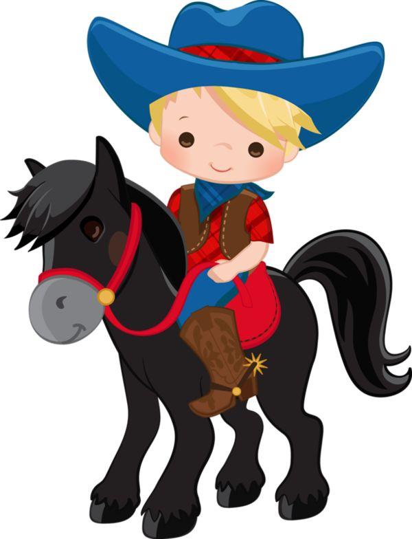 Cowboy clipart.  best western cowgirl