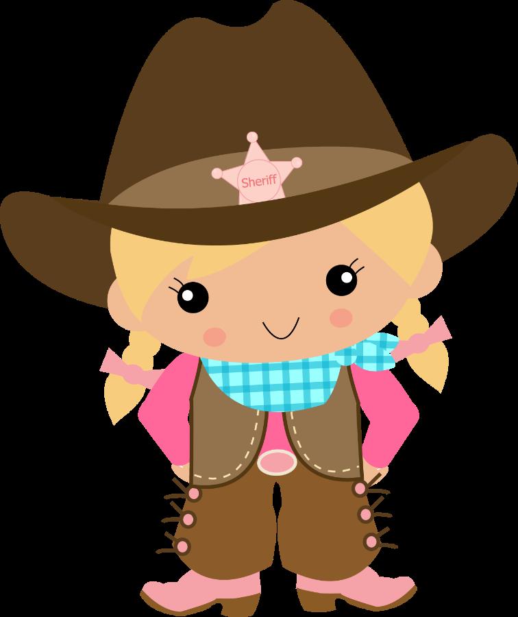 E cowgirl minus pinterest. Girls clipart cowboy