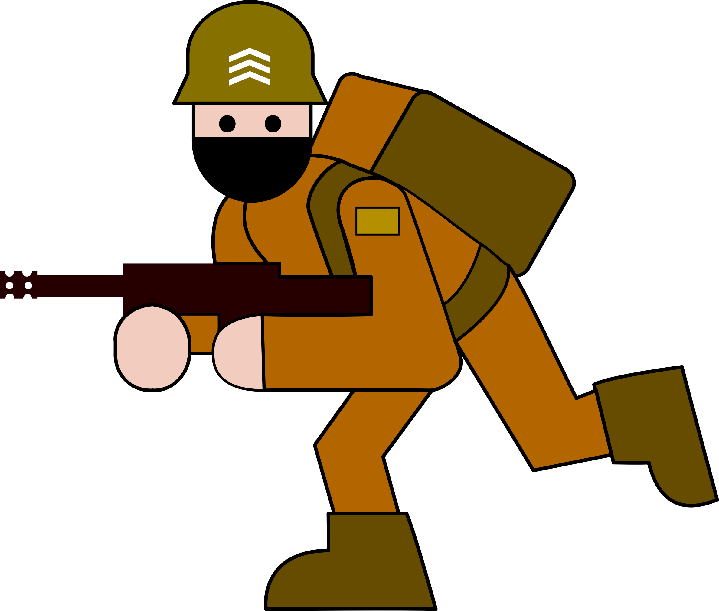 Soldier big image png. Military clipart soilder
