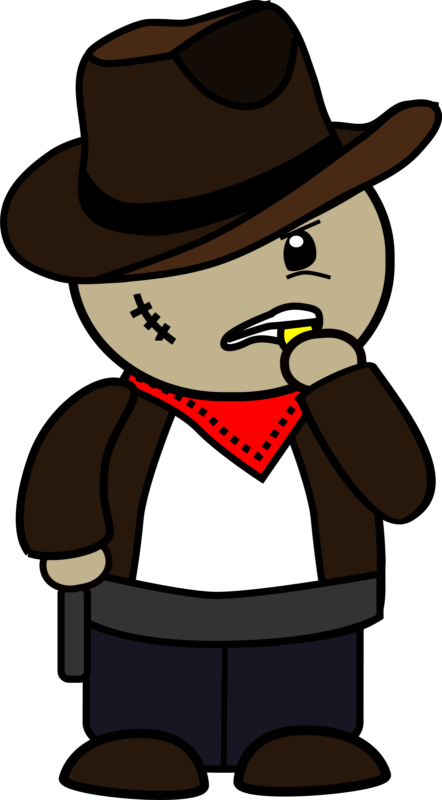 Free hat black and. Cowboy clipart cowboy breakfast