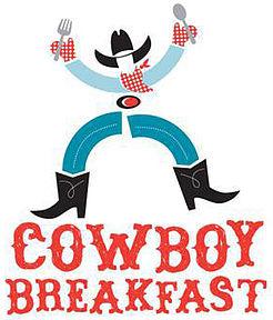 Cowboy clipart cowboy breakfast.  th annual