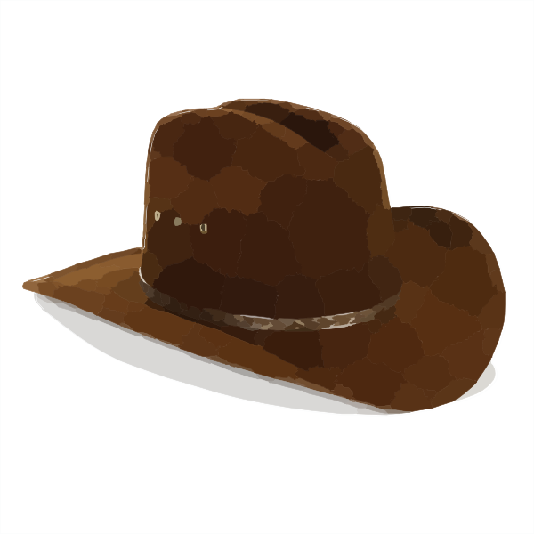 Cowboy transparent png pictures. Fedora clipart swag hat