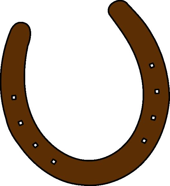 Cowgirl clipart horseshoe. Cowboy brown clip art