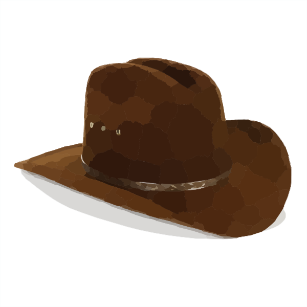 Cowboy clipart cowboy family. Hat clip art at