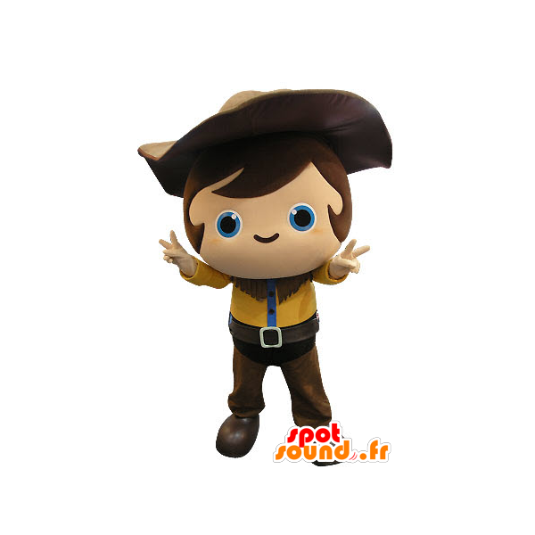 Purchase mascot child with. Cowboy clipart cowboy outfit