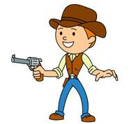 Free cliparts download clip. Cowboy clipart cowboy shooting