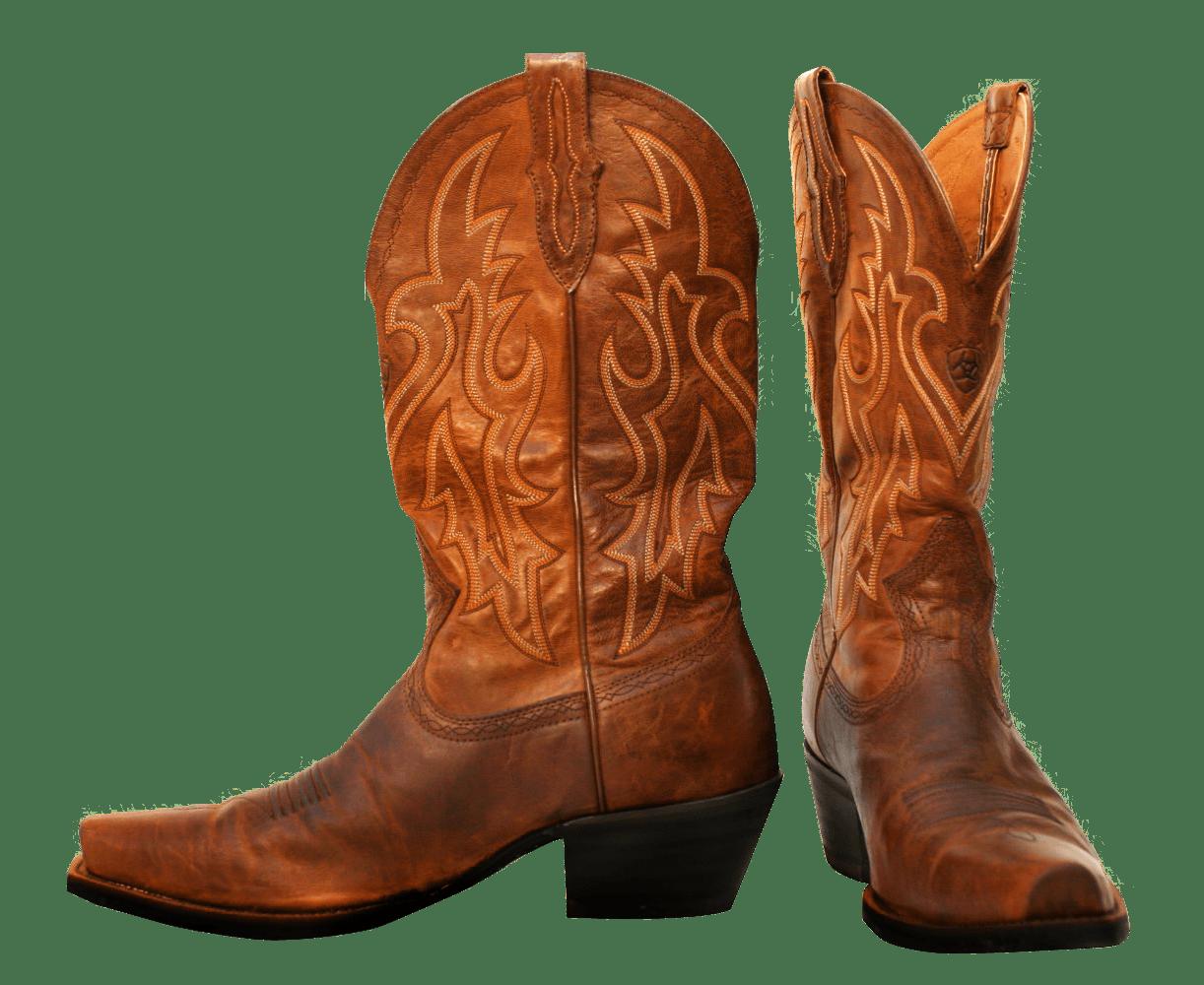 Cowboy clipart cowboy stuff. Pair of boots transparent