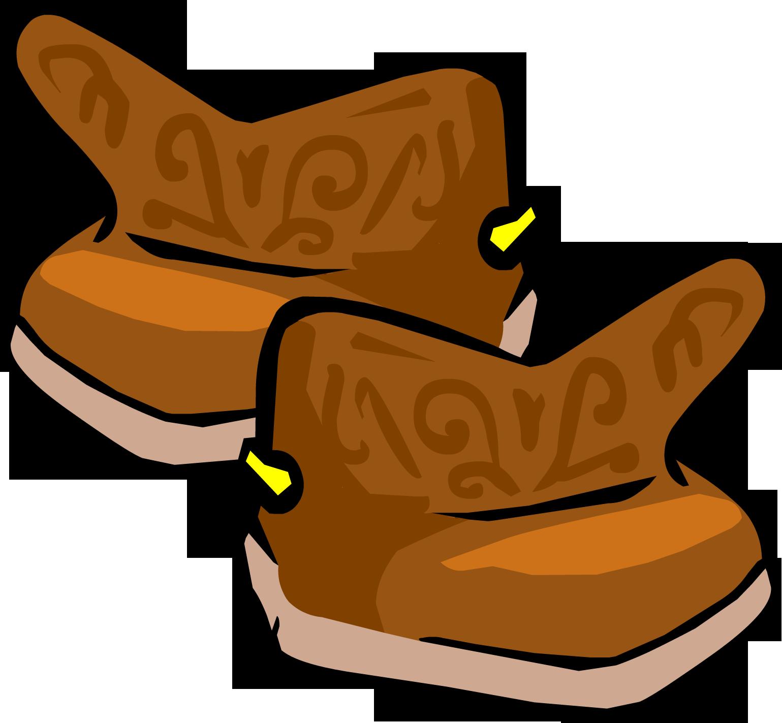 Cowboy clipart cowboy vest. Boots club penguin wiki