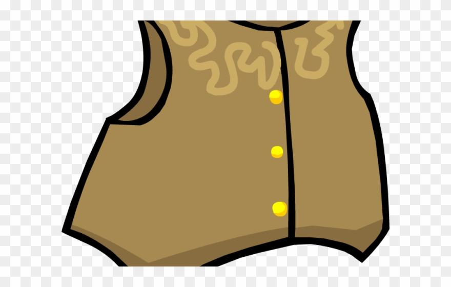 Jacket png download . Cowboy clipart cowboy vest