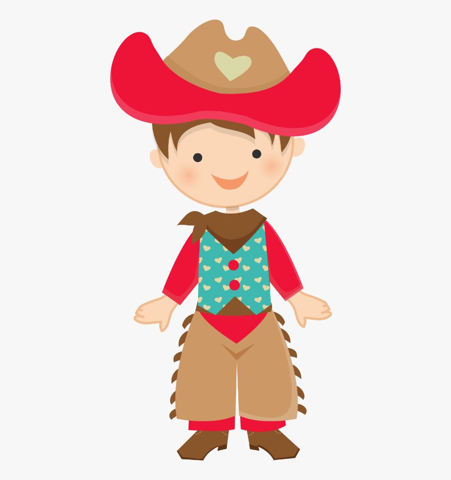 Menino festa junina . Cowboy clipart cowboys and indians