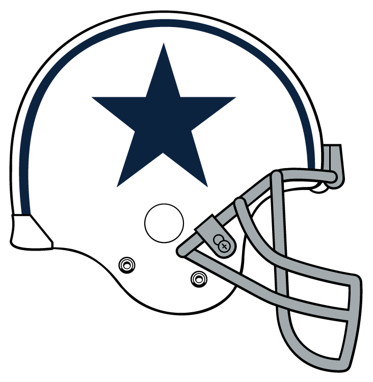 collection of helmet. Dallas cowboys clipart face