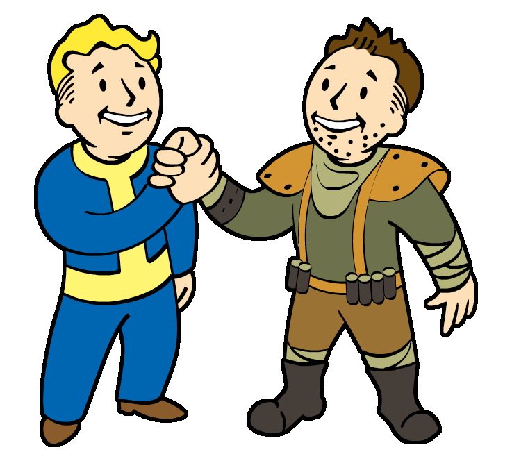 An ambitious plan fallout. Human clipart early man