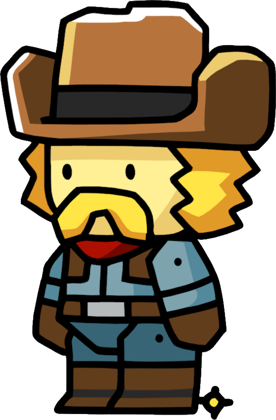 Cowboy clipart gunslinger. Scribblenauts wiki fandom powered