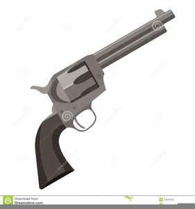Guns holsters free images. Pistol clipart western
