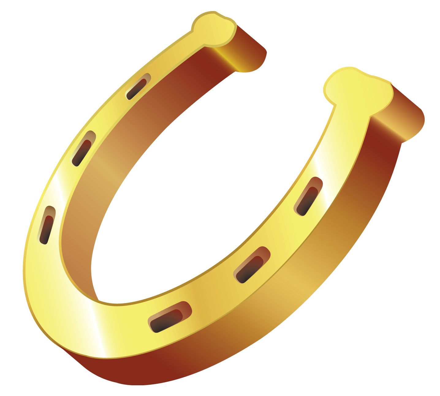 Gold clipart cute. Horseshoe png gallery yopriceville