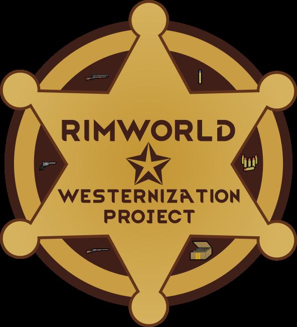 Cowboy clipart sheriff badge. B rimworld westernization project