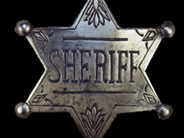 Free download clip art. Cowboy clipart sheriff badge