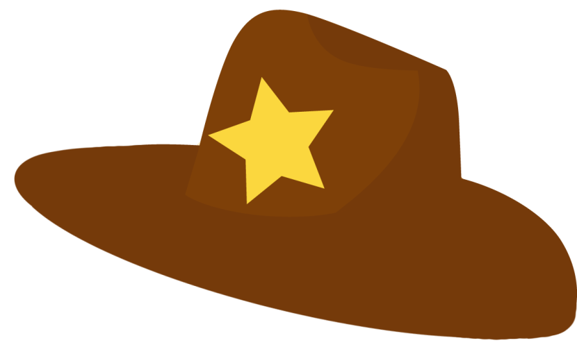 collection of sheriff. Hats clipart wild west