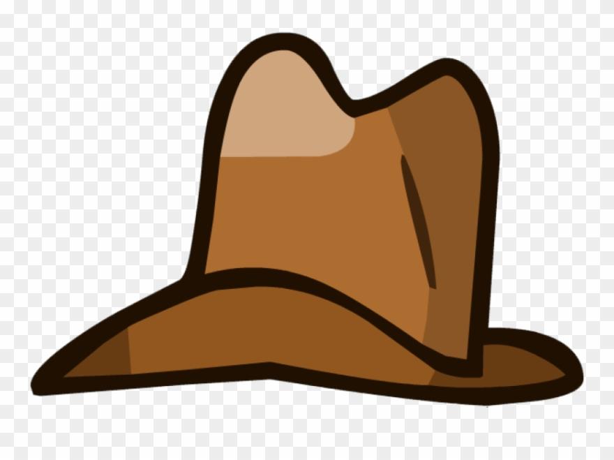 Cowboy clipart ten gallon hat. Brown object cartoon png