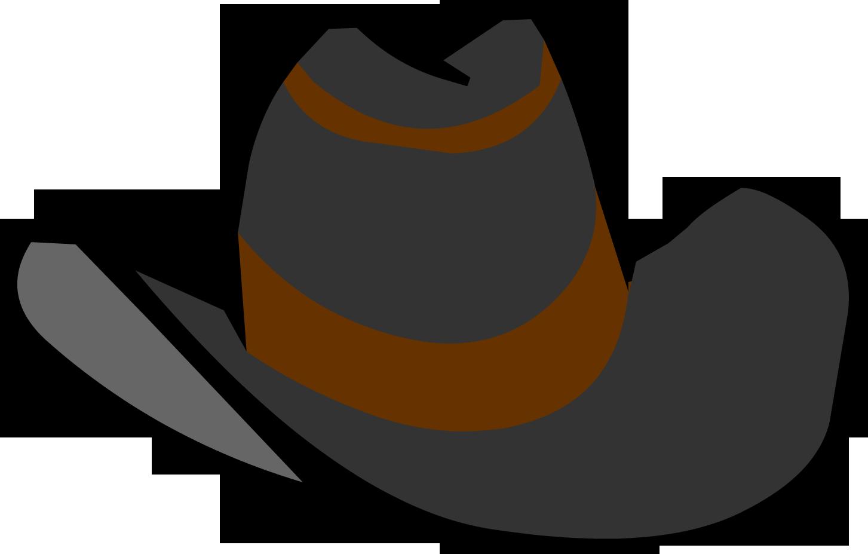 Free clip art image. Cowboy clipart ten gallon hat