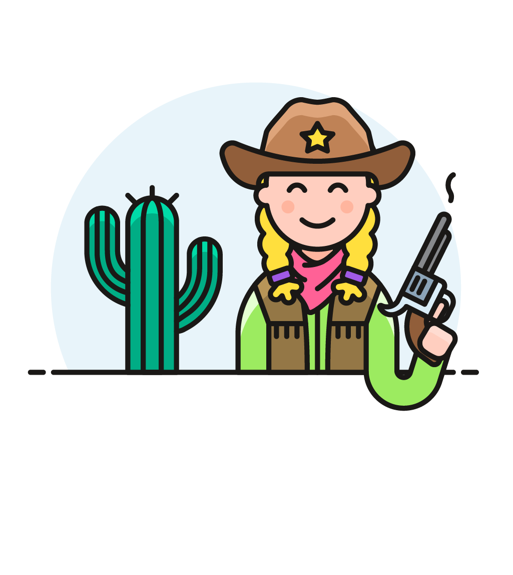 Icon image creator pushsafer. Cowboy clipart tribal