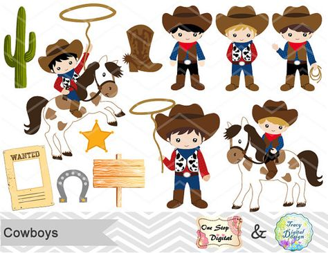 Cowboy clipart vaqueros. Pinterest