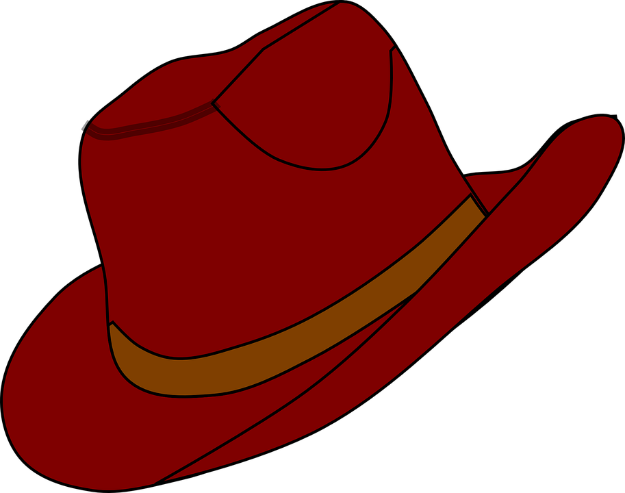 Free comic hats collection. Cowboy clipart western birthday