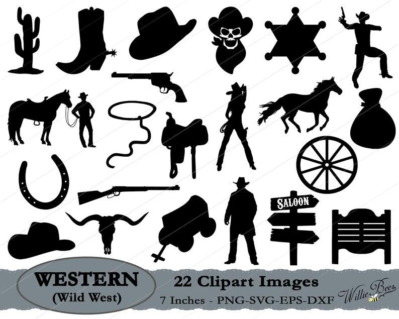 cowboy clipart western movie
